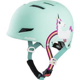 Alpina Park - Casque de vélo Enfant - turquoise/Multicolore